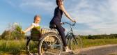 Tyto tříkolové kola pomáhají seniorům zůstat mobilními