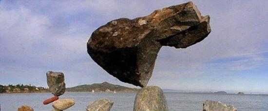 Šílené kameny - stojí, i když by neměly