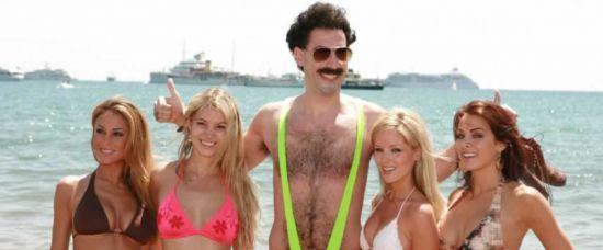 Boratovy plavky zakázány, kvůli dětem