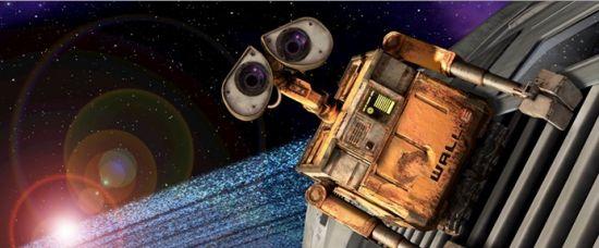 Romantický robot VALL-I zachraňuje svět