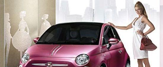 Barbie Fiat 500 pro blondýny