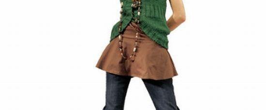 Vychytávka: sukně přes kalhoty