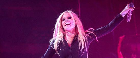 Exluzivní foto Avril Lavigne z Prahy