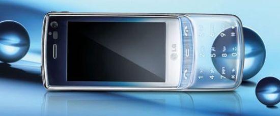 Tohle je průhledný mobil. Chcete?