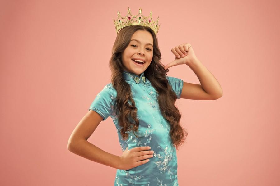 Dětská královna krásy
