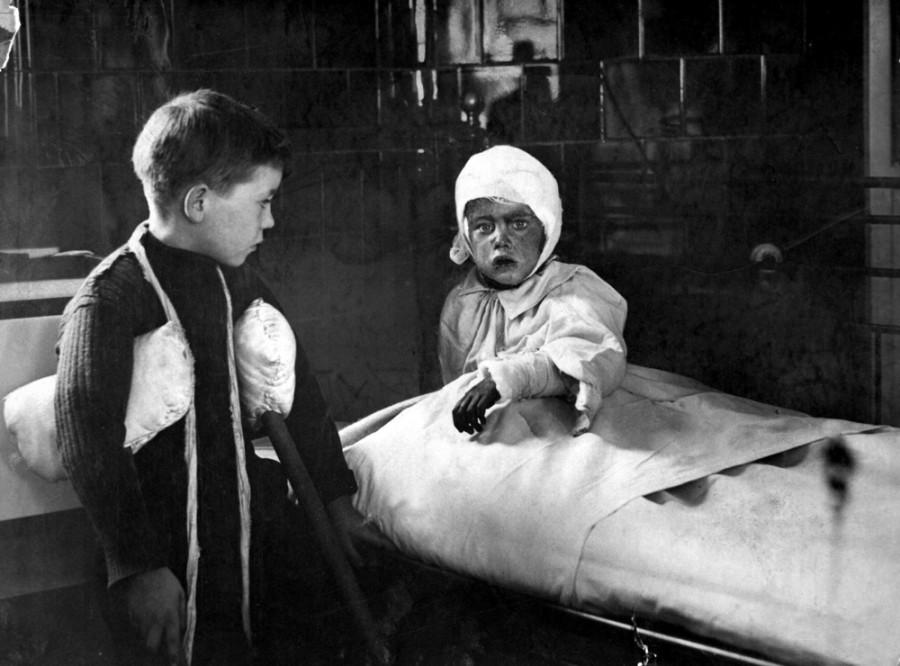Děti za války
