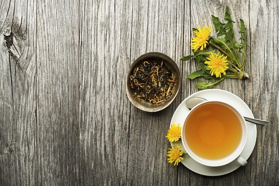 Čaj z pampelišky