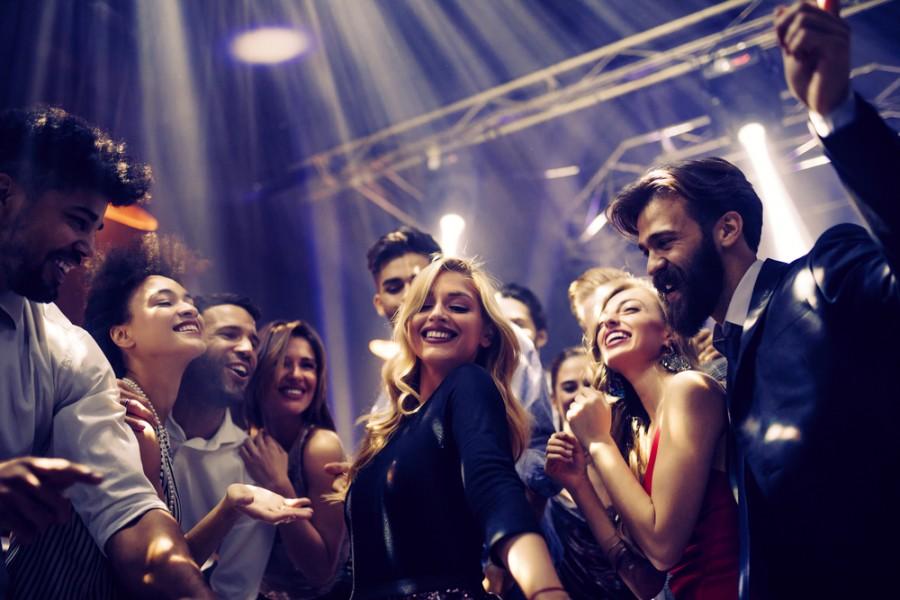 Dnešní mládež na taneční párty