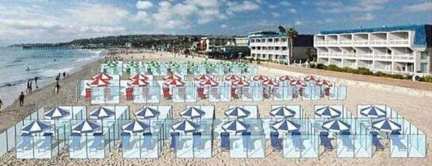 Návrh na řešení plážových boxů