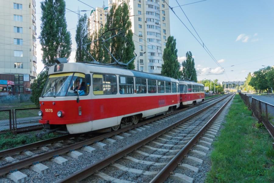 Tramvaj T3 v Kyjevě