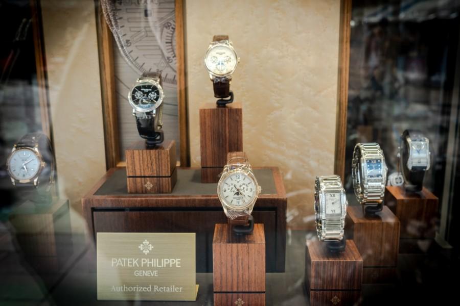 Obchod s hodinkami