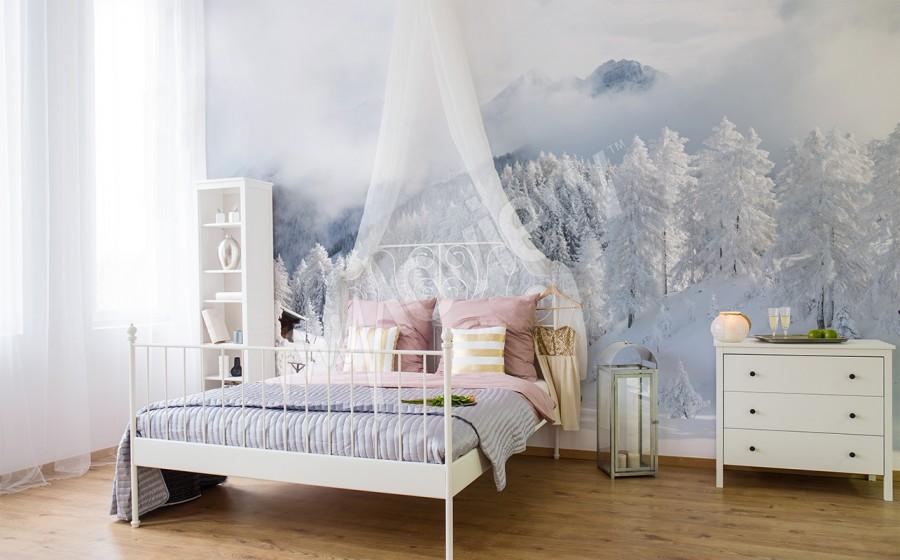 Příjemná ložnice