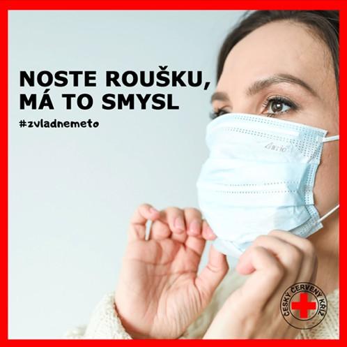 Český červený kříž pomáhá v době koronavirové