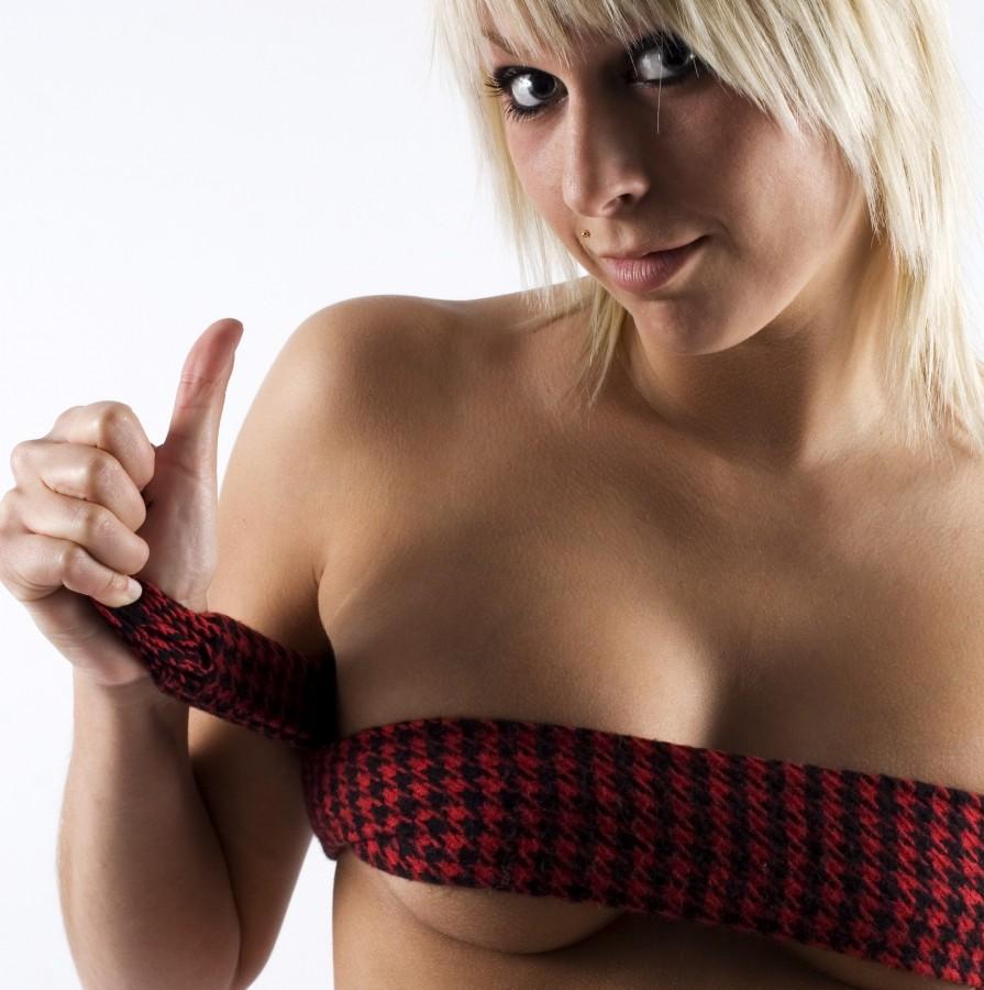 Sexy stříkající dívka