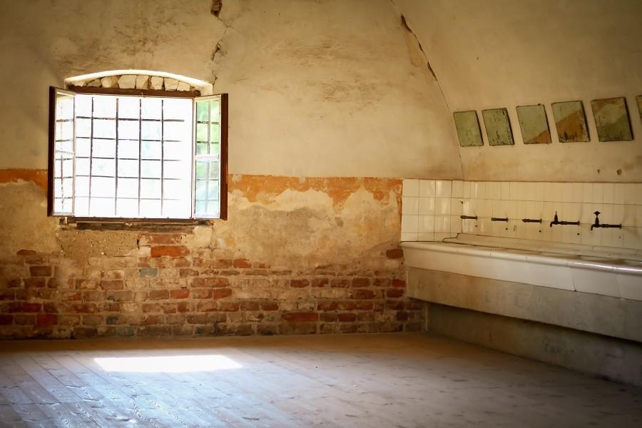 Koupelny vězňů