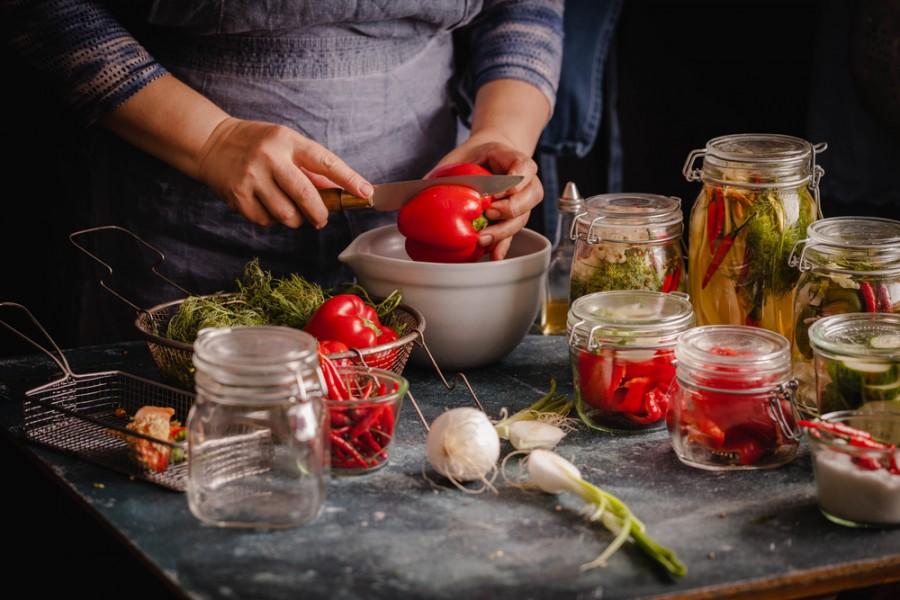 Příprava kvašené zeleniny