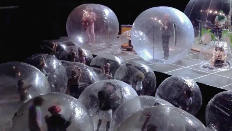 Vystoupení v bublinách
