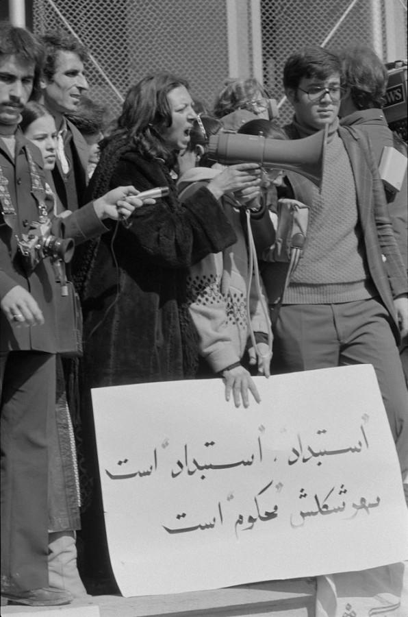 Demonstrující ženy