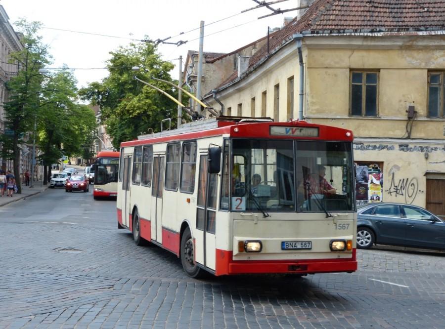 Trolejbus 14Tr v Litvě