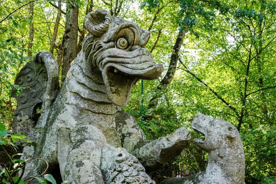 Socha bájného draka