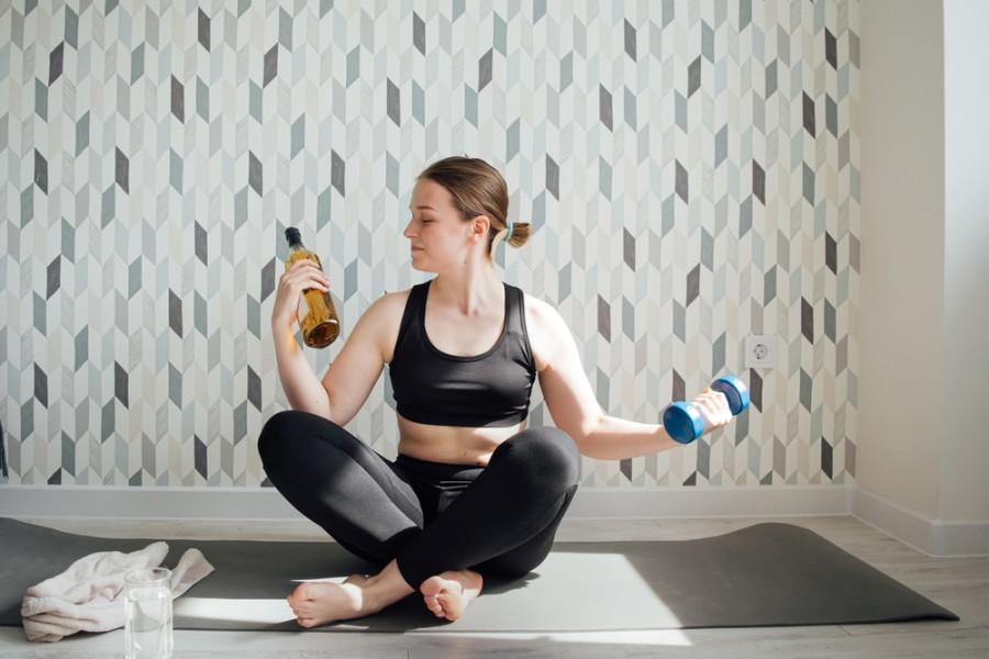 Cvičení a alkohol
