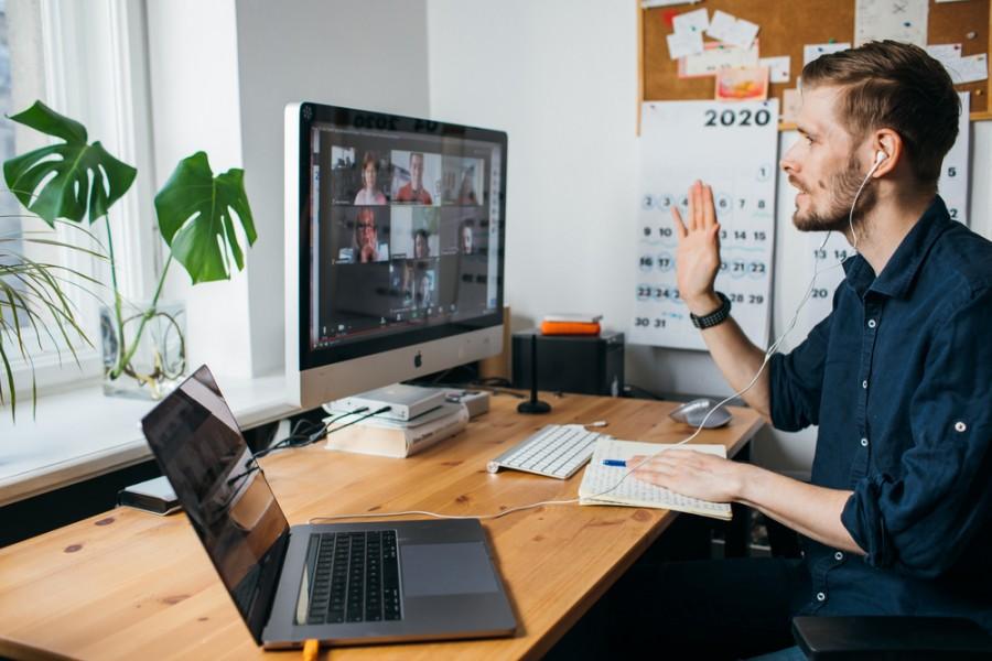 Práce on-line