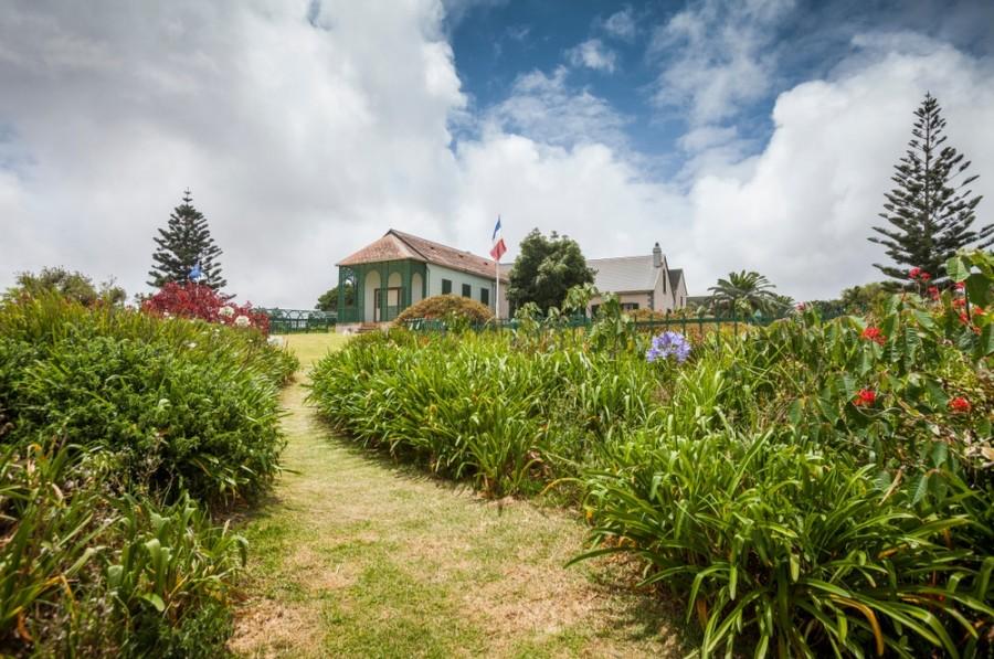 Longwood - dům ve kterém žil Napoleon v exilu