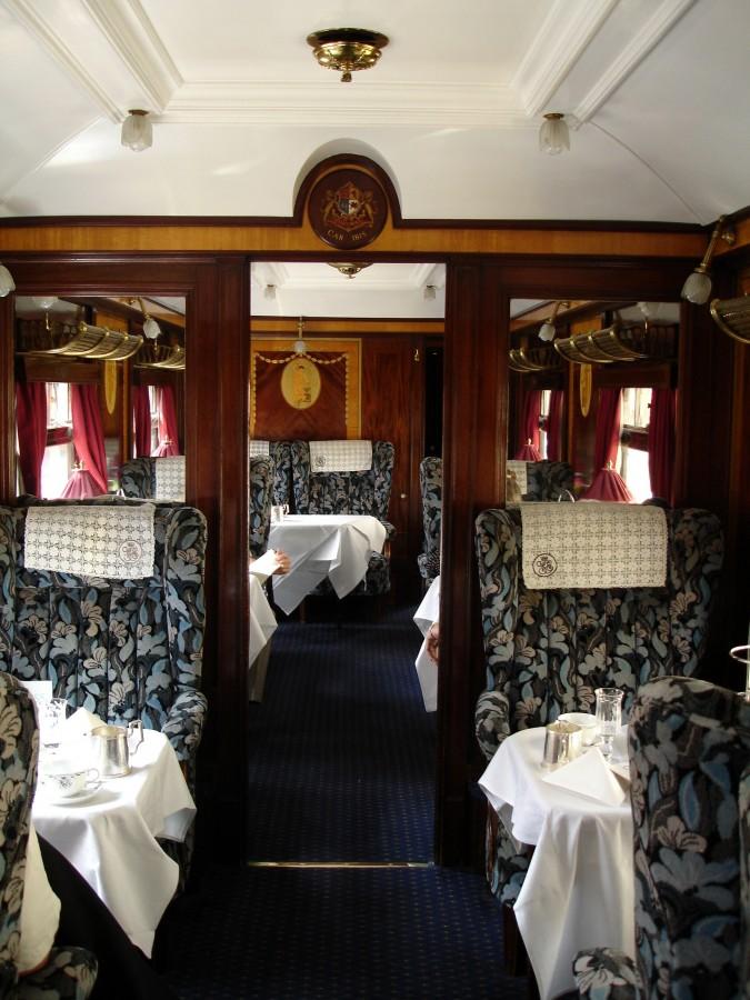 Luxus a pohodlí ve vlaku