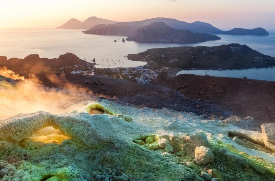 Ostrov vulkanického původu