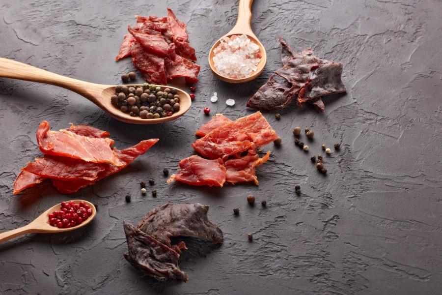 Sušené plátky masa