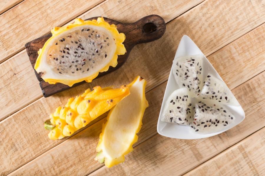 Žluté dračí ovoce