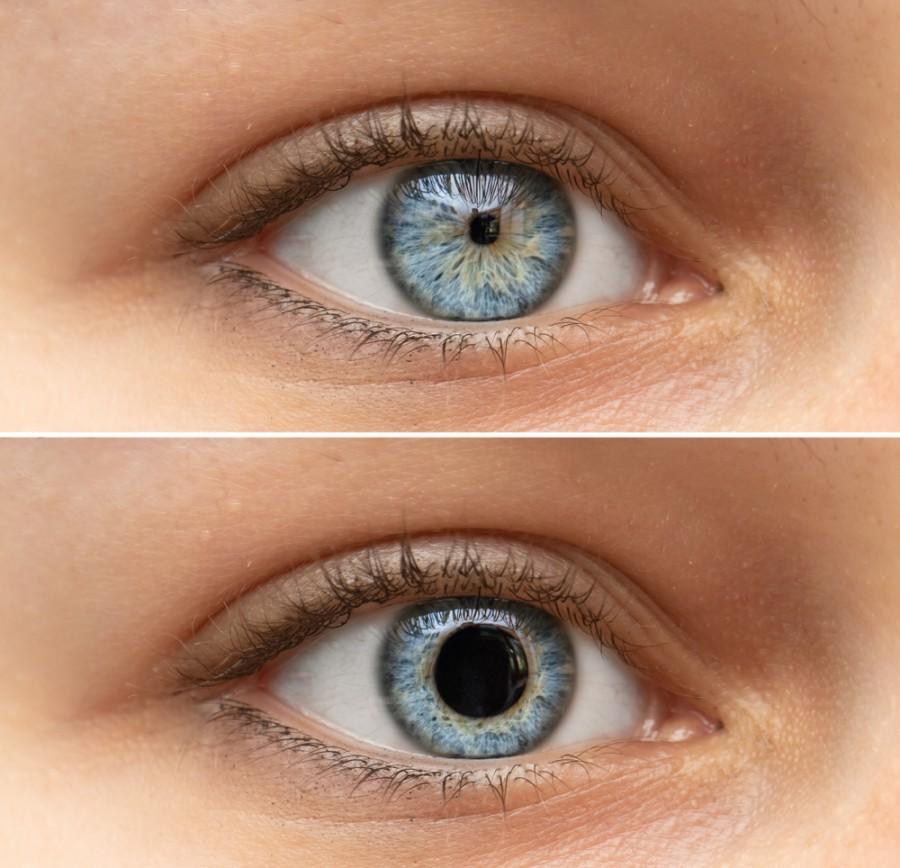 Oční zornice