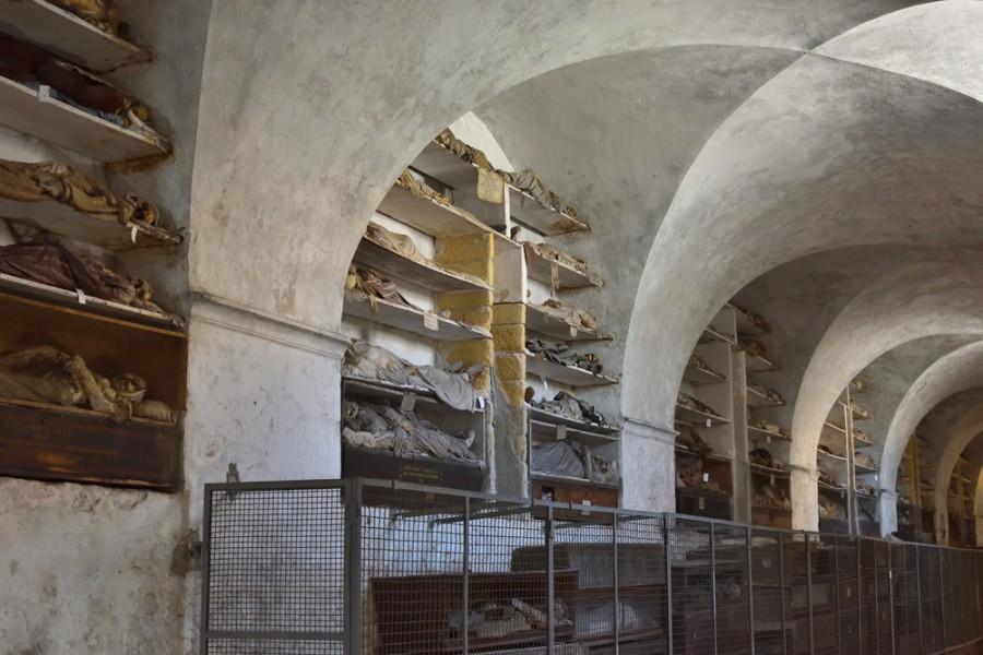 Katakomby v Palermu
