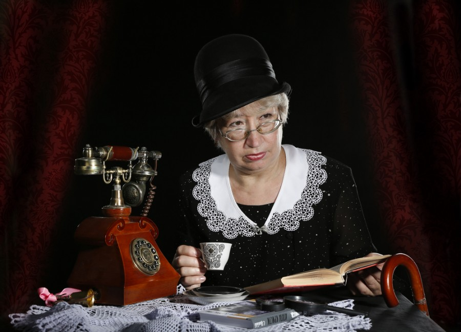 Spisovatelka Agatha Christie